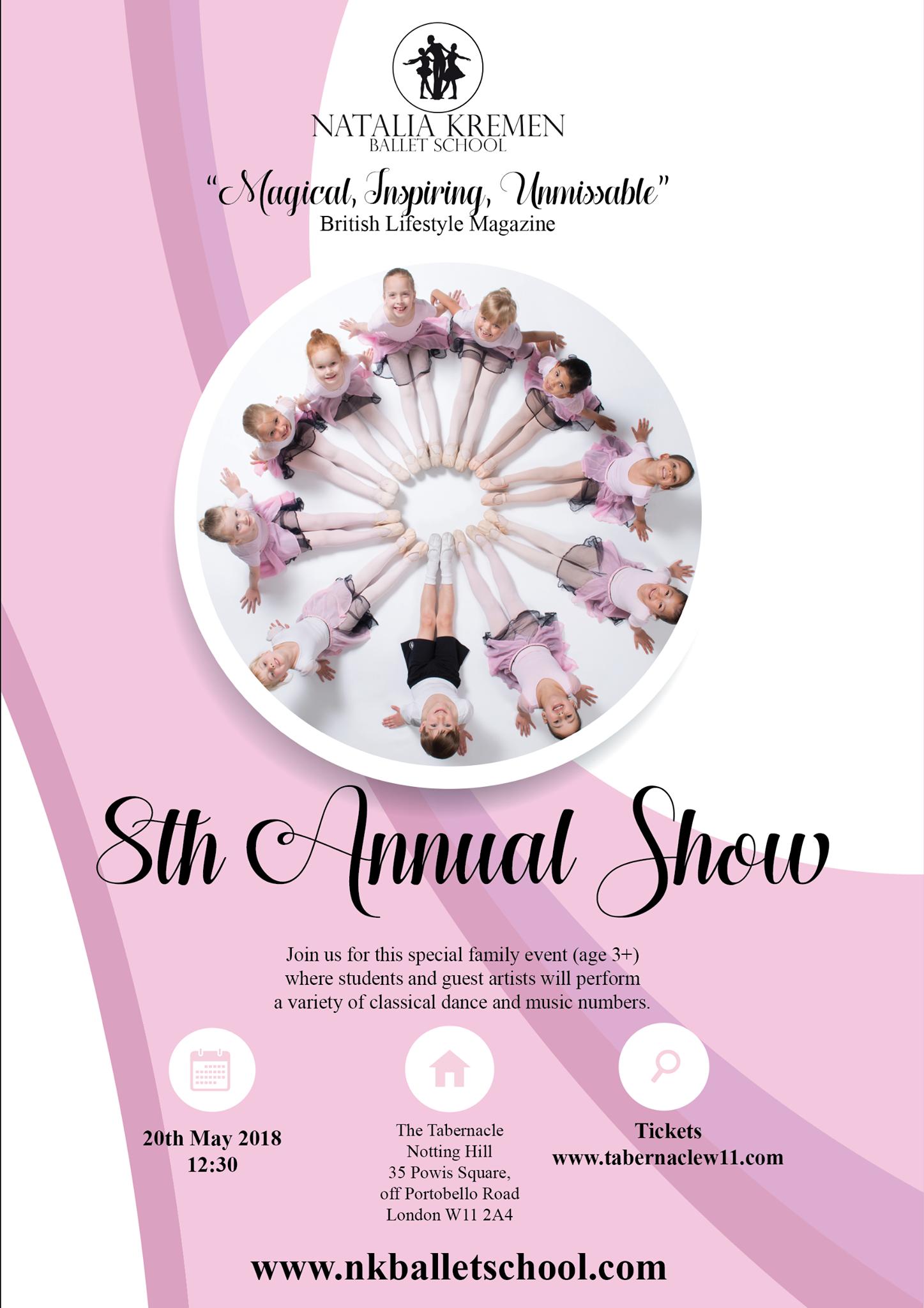 Natalia Kremen Ballet School 8th Annual School Show