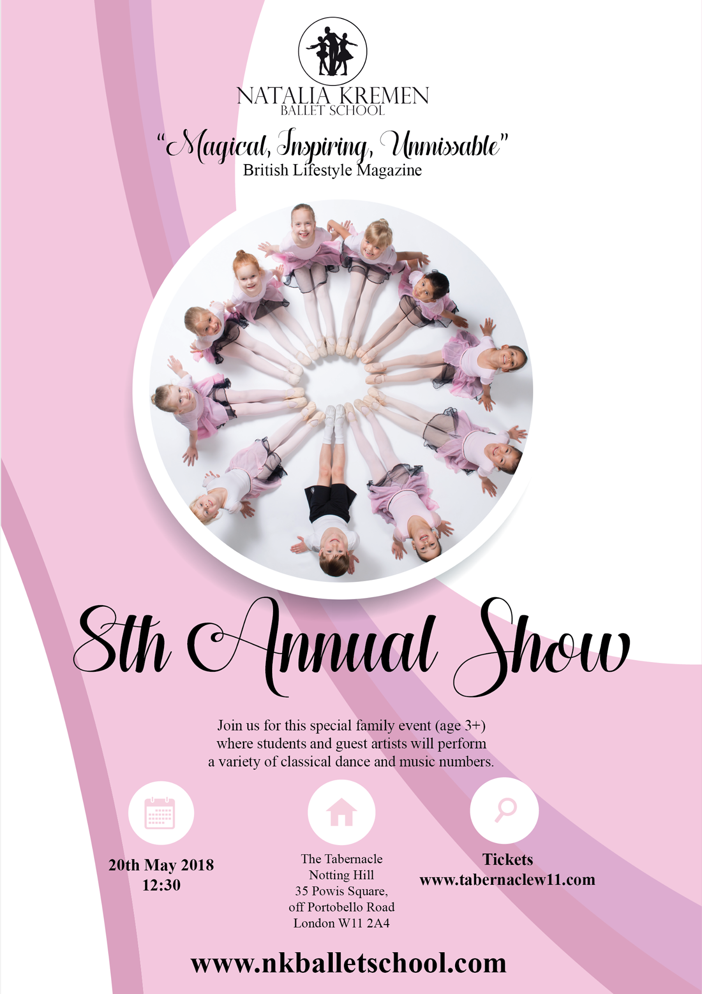 Natalia Kremen Ballet School 8th Annual School Show