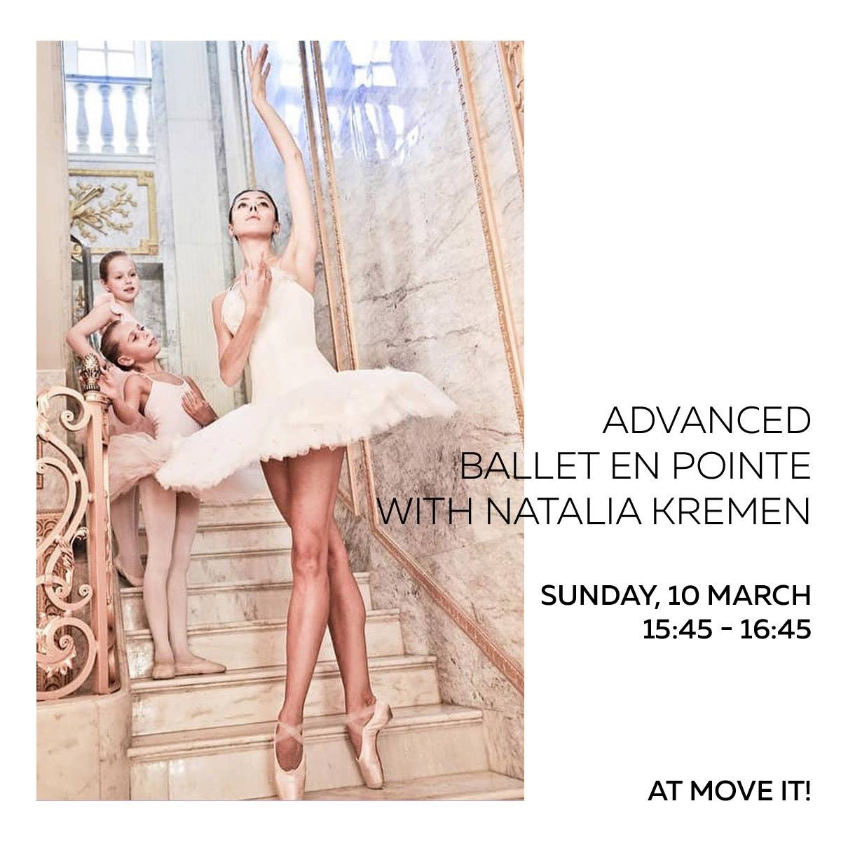 Natalia Kremen Advanced Ballet Event