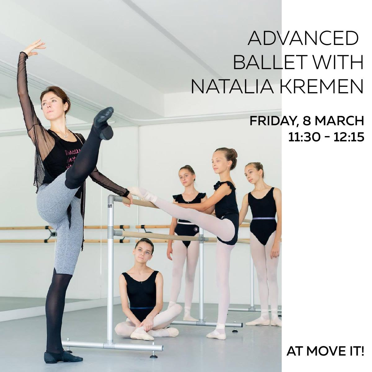 NK Ballet School – Move It Exhibition